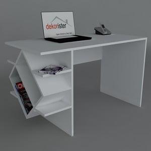 Pracovní stůl Barok White, 60x120x73,8 cm