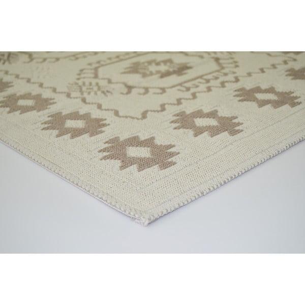 Béžový odolný koberec Vitaus Dahlia, 160x230cm