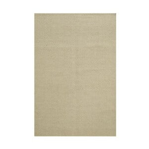 Ručně tkaný koberec Kilim Chevron White/Beige, 98x160 cm