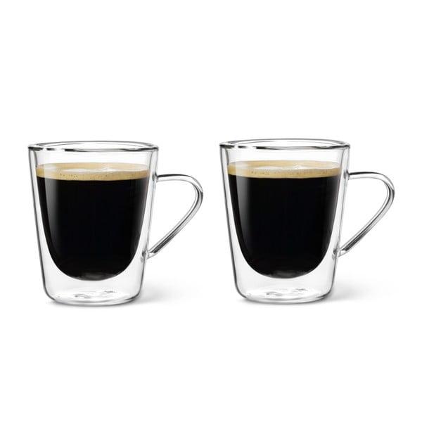 Set 2 pahare cu pereți dubli Bredemeijer Multiuso, 220 ml