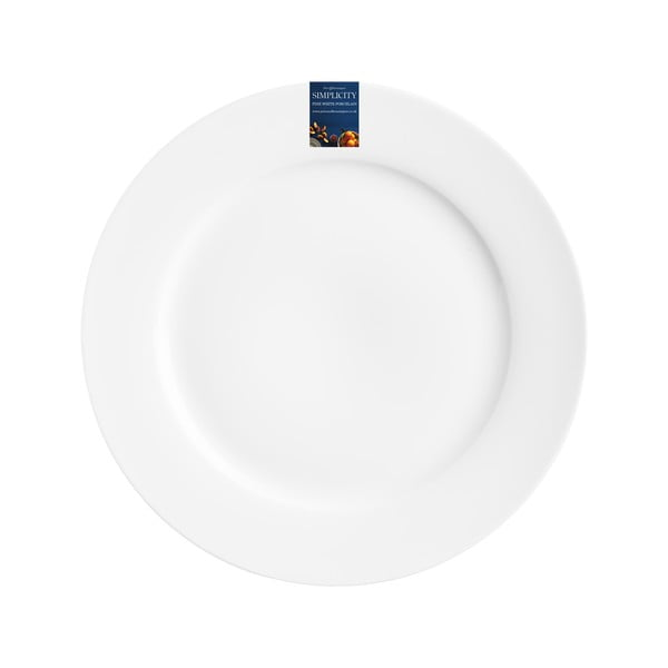 Farfurie Price & Kensington Simplicity, Ø 19 cm, alb