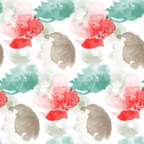 Povlečení Acuarella Tyrkys, 240x220 cm