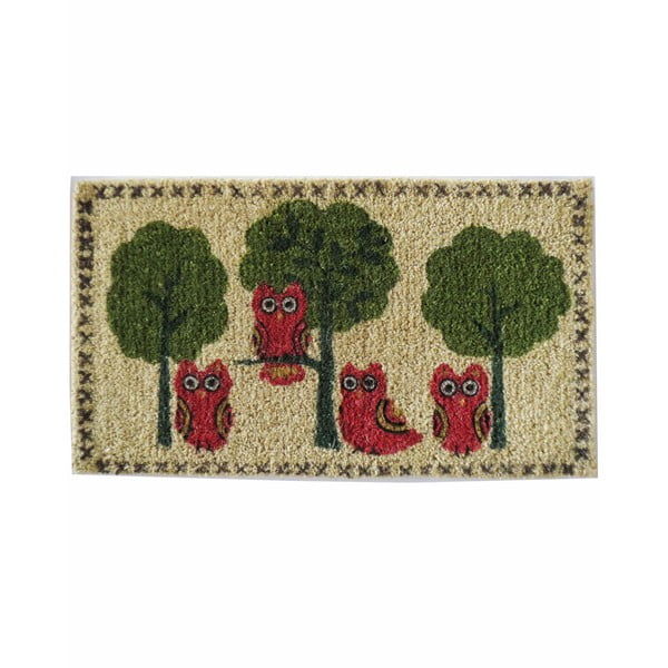 Rohožka Owls and Trees, 73x43 cm