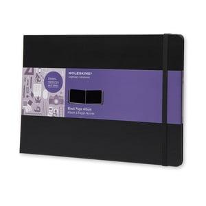 Album, negru, Moleskine A4