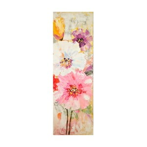 Ručně malovaný obraz Mauro Ferretti Bouquet, 40x120cm