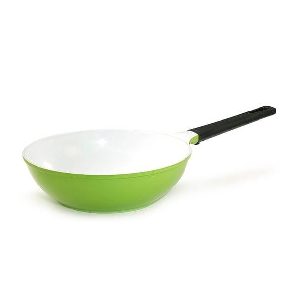 Keramická WOK pánev My Wok, zelená