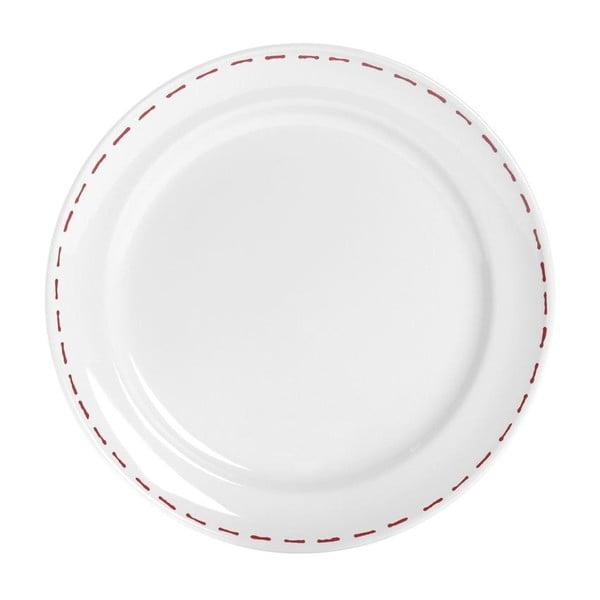 Set tří talířů Sophie, 26,5 cm, červený