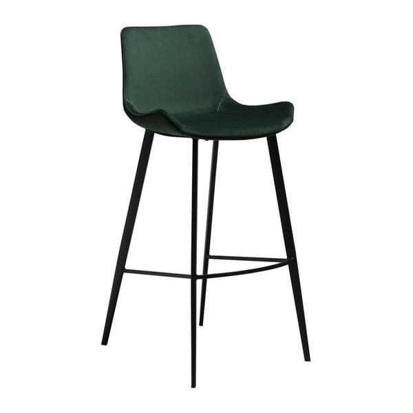 Tmavě zelená barová židle DAN-FORM Denmark Hype