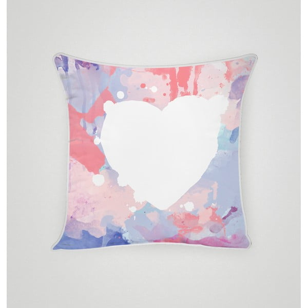 Povlak na polštář Pastel Heart I, 45x45 cm