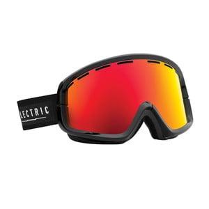 Lyžařské brýle Electric EGB2 Black Bronze Red + sklo do mlhy