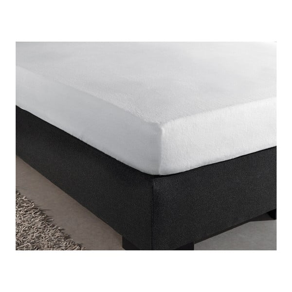 Bílé elastické prostěradlo Homecare,160x200-220cm