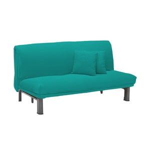 Canapea extensibilă cu 3 locuri 13Casa Furios, turcoaz