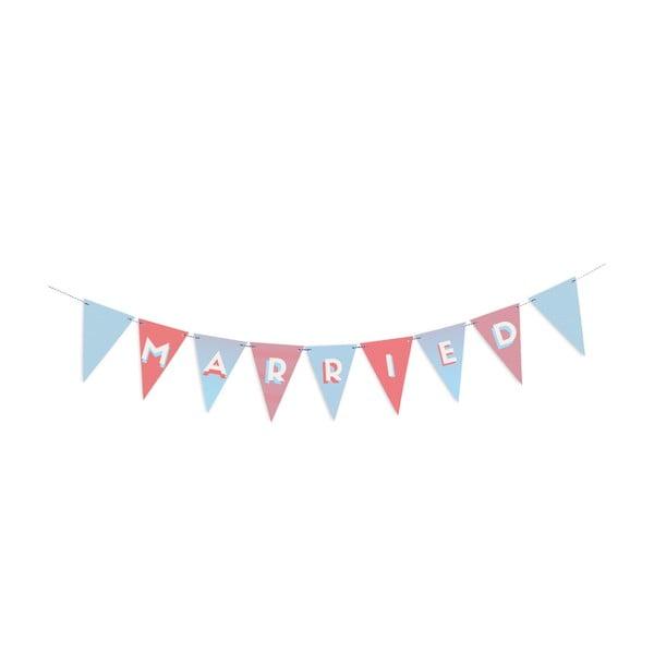 Párty vlaječky Wedding