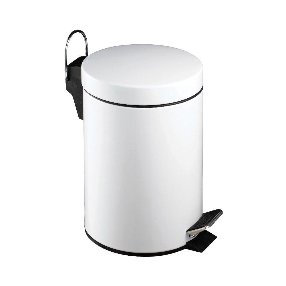 Bílý pedálový odpadkový koš Premier Housewares,3l Premier Housewares