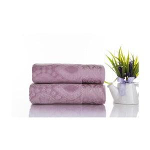 Sada 2ks ručníků Sal Violet, 50x90 cm