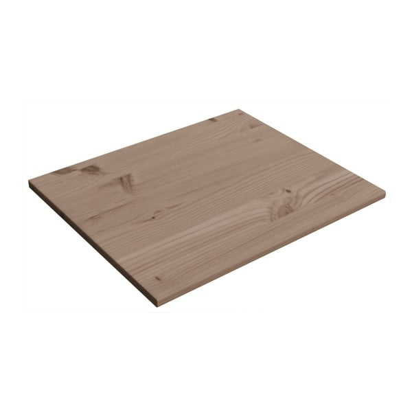 Sada 2 hnedých prídavných políc Flexa Classic, 68 x 52 cm