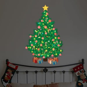 Autocolant Walplus Magic Traditional Looking Christmas Tree