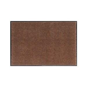 Hnědá rohožka Hanse Home Soft and Clean, 39 x 80 cm