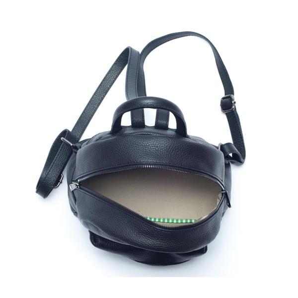 Kožený batoh Mangotti 1166, černý