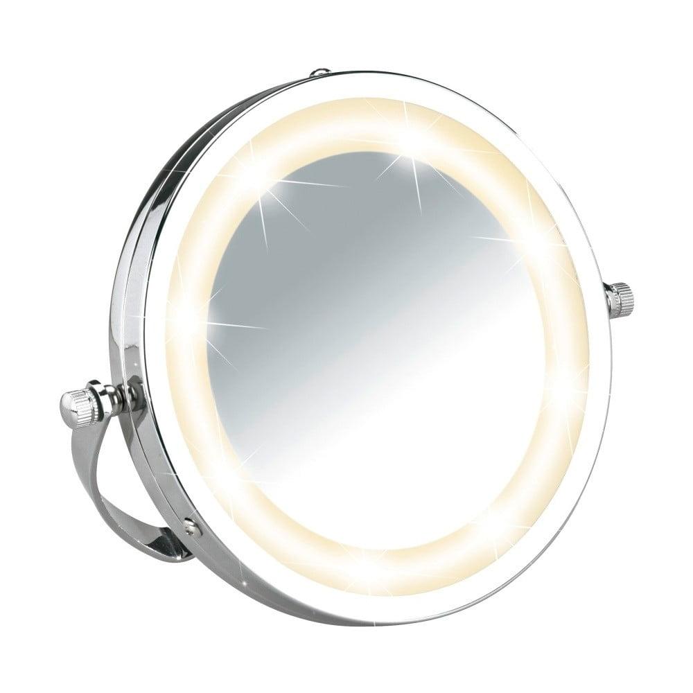 Zvětšovací zrcadlo s LED osvětlením Wenko Brolo