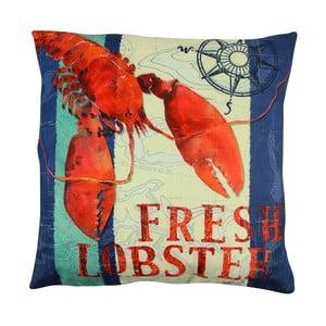 Polštář s výplní Fresh Lobster, 43x43 cm