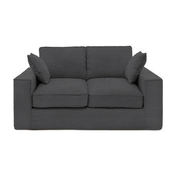 Canapea cu 2 locuri Vivonia Jane, gri închis de la Vivonita