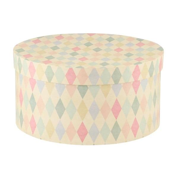 Sada 5ks úložných krabic Hat Square/Stripe/Dot