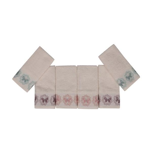 Sada 6 ručníků Butterflies