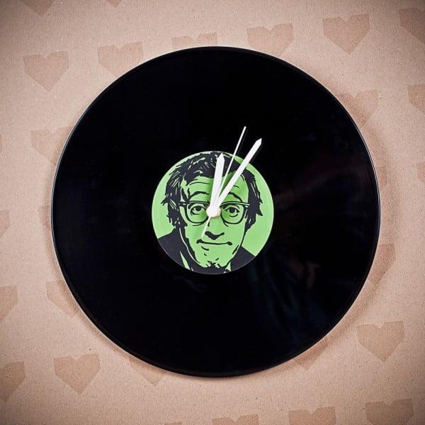 Vinylové hodiny Woody Allen