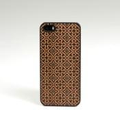 Dřevěný kryt na iPhone 5, Clementine design