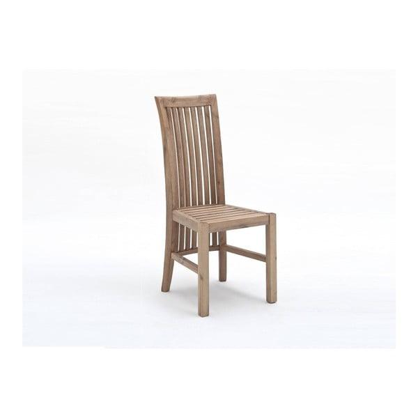 Scaun din lemn de salcâm SOB Sydney, maro deschis