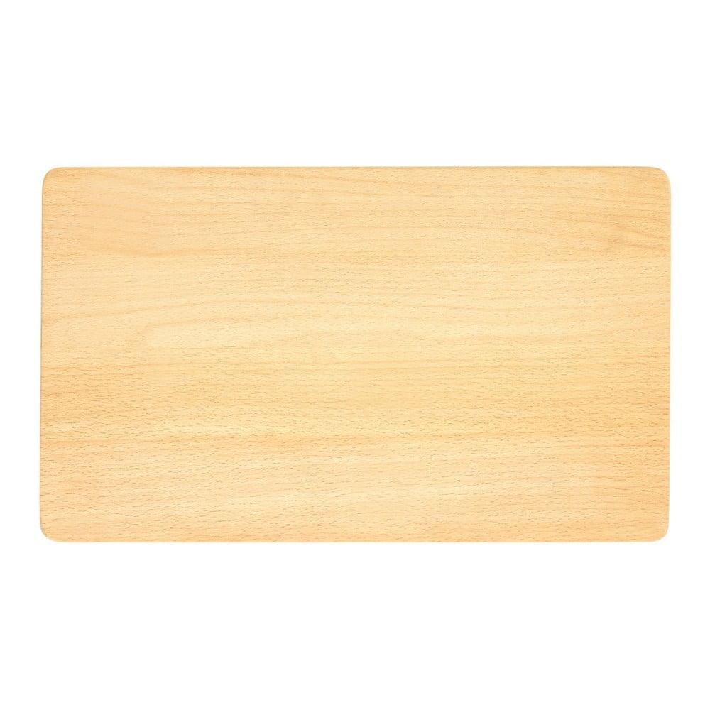 Krájecí prkénko z bukového dřeva Premier Housewares, 24 x 40 cm