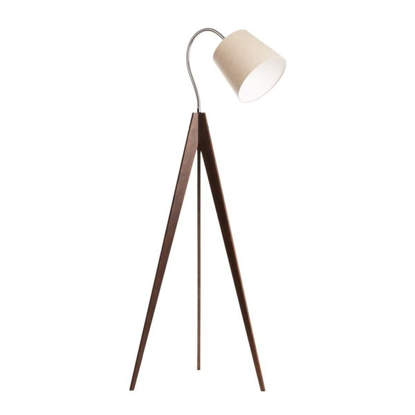 Stojací lampa Artist Flex Beige/Dark Brown
