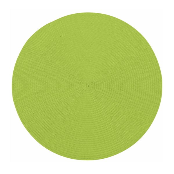 Suport rotund pentru farfurie Tiseco Home Studio Round, ø38cm, verde