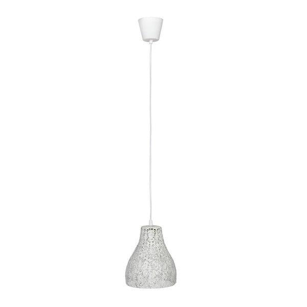 Stropní svítidlo Dentelle White, 17x21 cm z kavárny U Kubistů