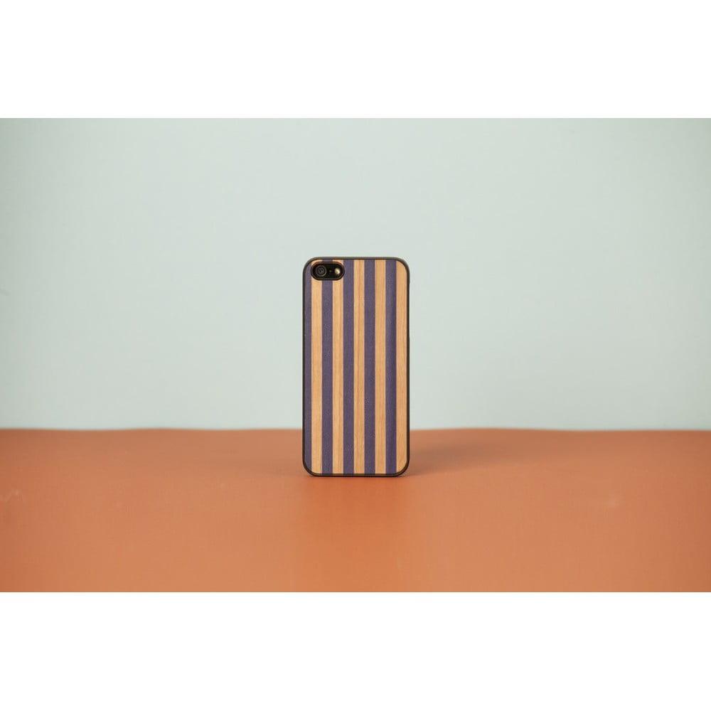Dřevěný obal na iPhone 5 5S Stripes  280e20bdf0c