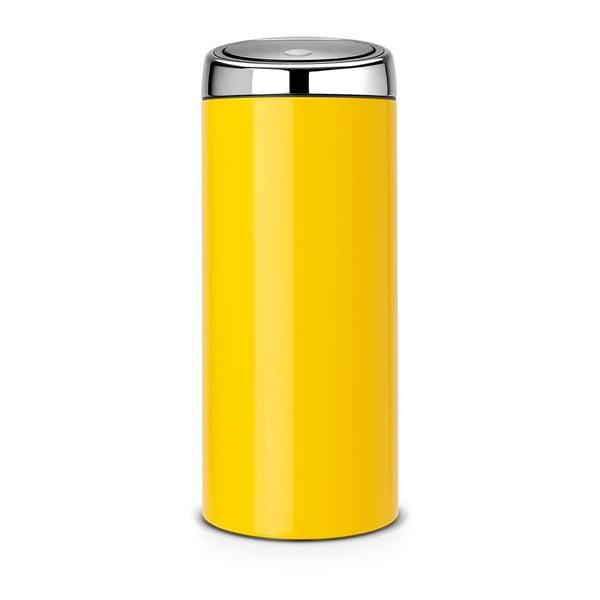 Dotykový odpadkový koš Touch Bin, 30 l, žlutý