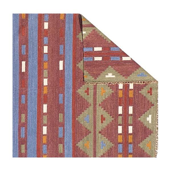 Vlněný koberec Kilim no. 701, 155x240 cm