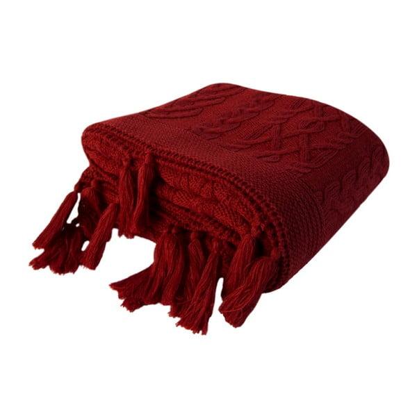 Červená deka Tutu, 130 x 170 cm