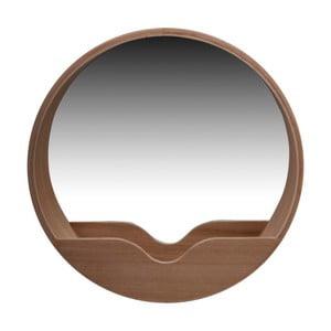 Zrcadlo s odkládacím prostorem Zuiver Round Wall, 40 cm