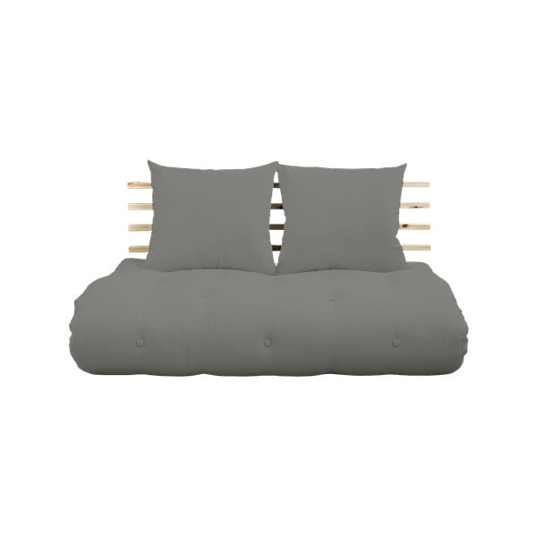 Sofa rozkładana Karup Design Shin Sano Natural Clear/Grey