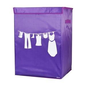 Fialový koš na prádlo JOCCA Laundry