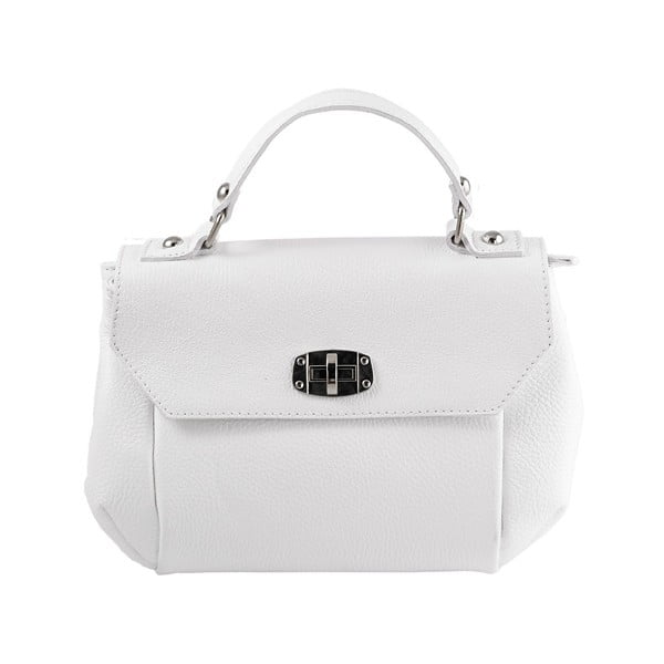 Kožená kabelka Andrea Cardone 2021 White