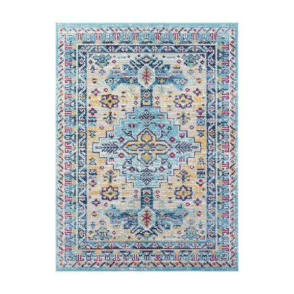 Covor Nouristan Agha, 120 x 170 cm, albastru deschis
