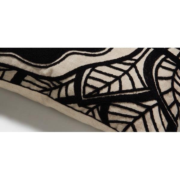 Černý polštář La Forma  Minimal, 45x45 cm