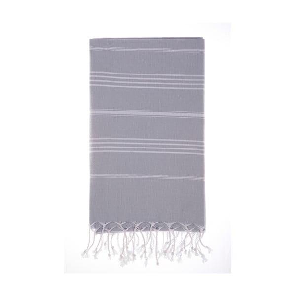 Hamam osuška Cesme Grey, 100x180 cm