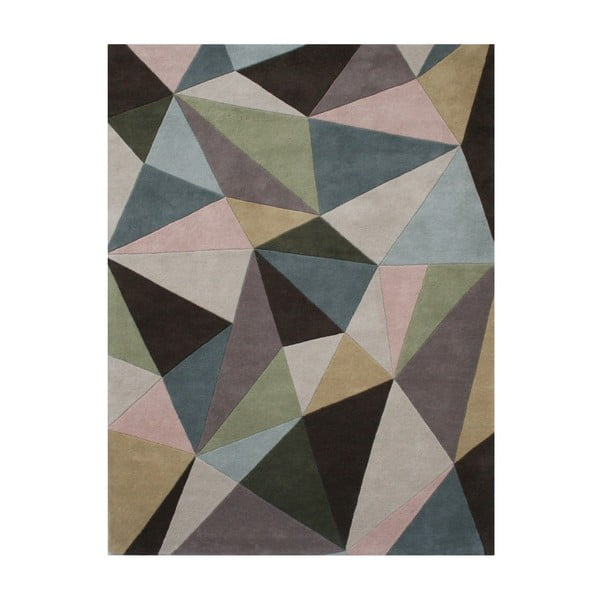 Vlněný koberec Mirina Pastel, 140x200 cm