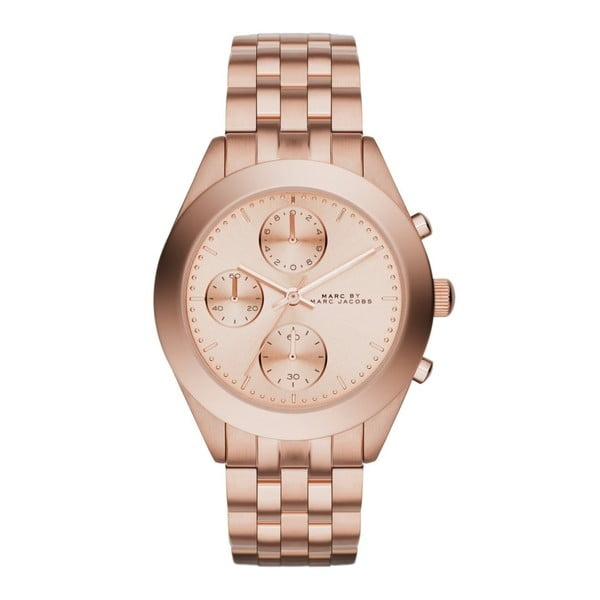 Dámské růžově zlaté hodinky Marc Jacobs MBM3394