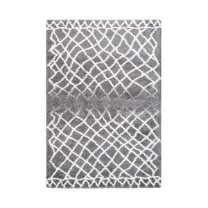 Šedý koberec Kayoom Villa, 160 x 230 cm