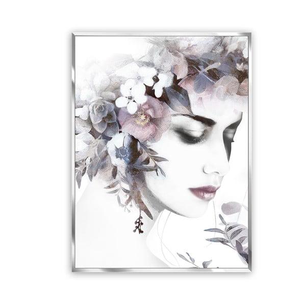 Flower Crown vászonkép, 62 x 82 cm - Styler